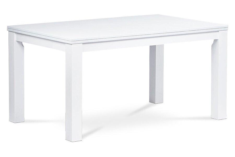 Jídelní stůl 150x90 cm, barva bílá