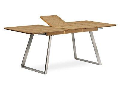 Moderní jídelní stůl rozkládací - dekor dub