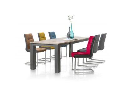 Ludo - masivní rozkládací jídelní dubový stůl