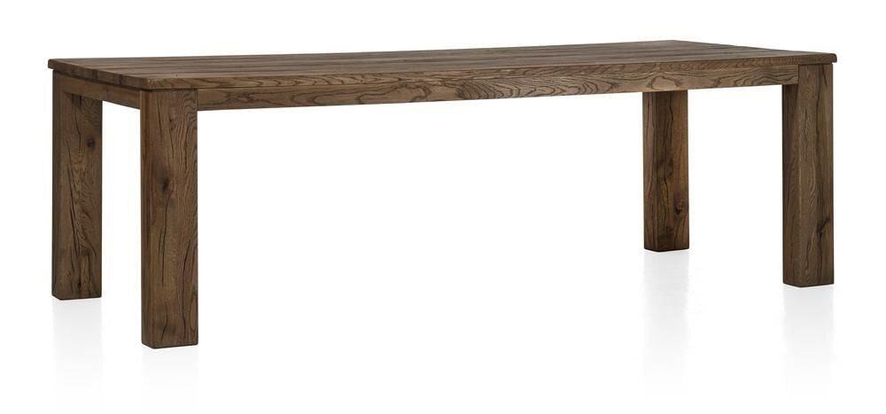 Masivní dubový nerozkládací jídelní stůl 220x100 cm