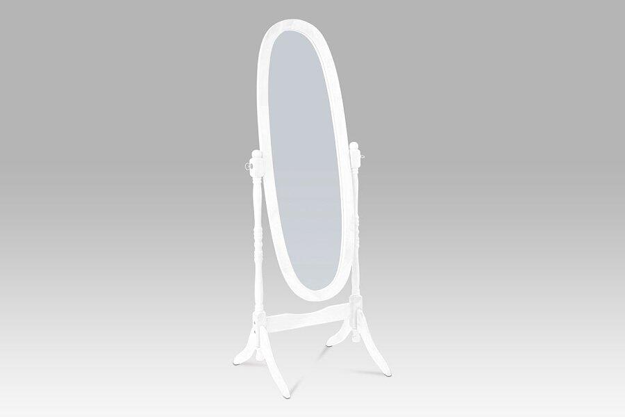 Zrcadlo, MDF, bílý matný lak