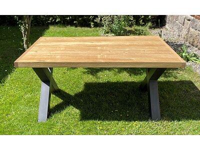 Luis - masivní nerozkládací jídelní dubový stůl