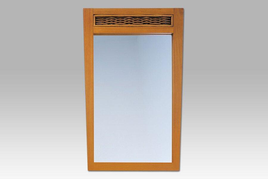 ATHENA - zrcadlo kaučuk./ratan med