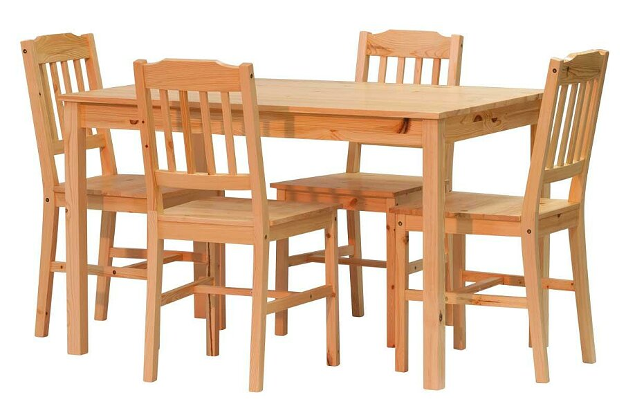 Stůl PINETA sestava 1+4