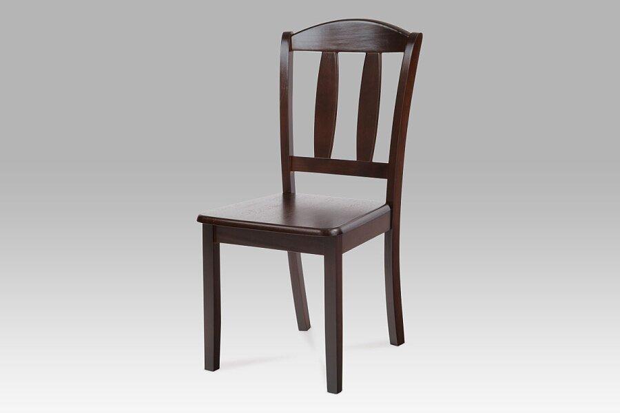 Jídelní židle celodřevěná, barva ořech