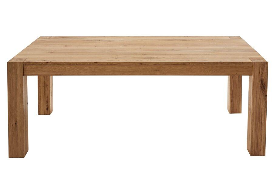 Dubový nerozkládací jídelní stůl 160x90 cm