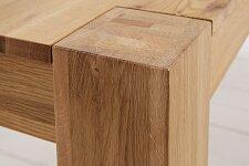 Detail uchycení dubových nohou 12x12 cm
