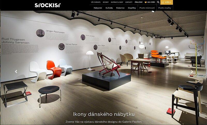 Screenshot: STOCKIST