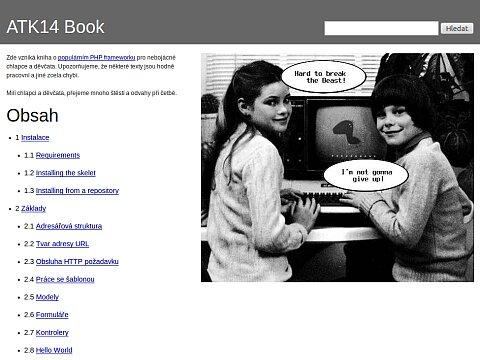 Screenshot: ATK14 Book