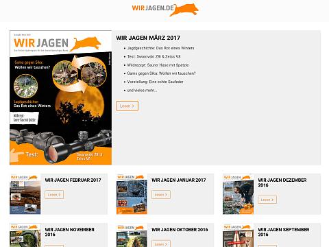 Screenshot: Wir Jagen