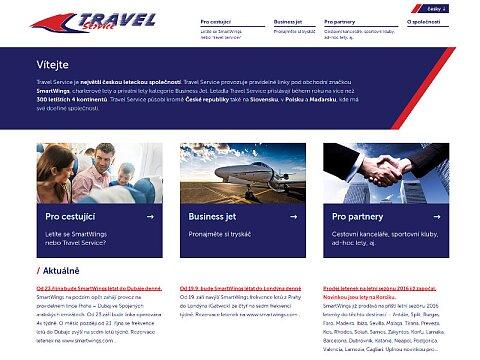 Screenshot: Travel Service