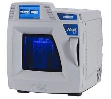 Mikrovlnné systémy, příprava vzorků a procesní analyzátory firmy CEM